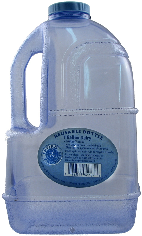 new wave enviro 1 gallon bpa free dairy water bottle